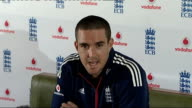 Kevin Pietersen Pietersen press conference SOT Momentum is key / Winning becoes habit and you learn how to win / Believes his England team has...