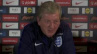 Roy Hodgson and Jordan Henderson press conference Hodgson and Henderson press conference SOT on Andros Townsend Hodgson and Henderson leave at end of...