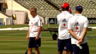England team training before the 3rd test against South Africa ENGLAND Birmingham Edgbaston EXT England cricket team training before the third test...