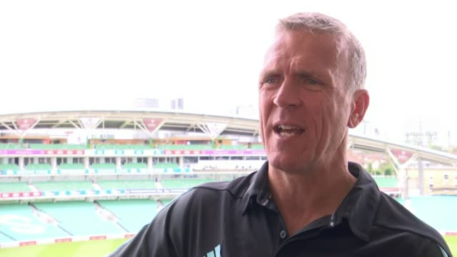England to play 100th test match at the Oval Alex Stewart interview SOT