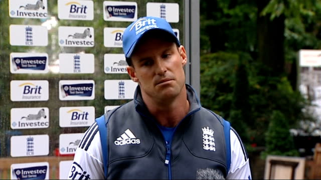 Andrew Strauss press conference Andrew Strauss press conference SOT discusses Kevin Pietersen 'text message affair' we all want to move forward but...