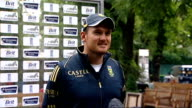 Andrew Strauss press conference Graeme Smith press conference SOT discusses forthcoming test match between England and South Africa and Kevin...