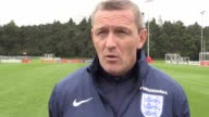 England Under21s train ahead of their forthcoming qualifiers against the Netherlands and Latvia Head coach Aidy Boothroyd discusses how the team is...