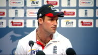 England win first test INT Andrew Strauss press conference SOT To be the number one side in the world you've got to grab opportunities I think we did...