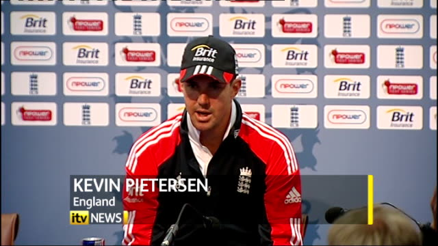 first test day 2 INT Kevin Pietersen press conference SOT really enjoyed it had to play hard