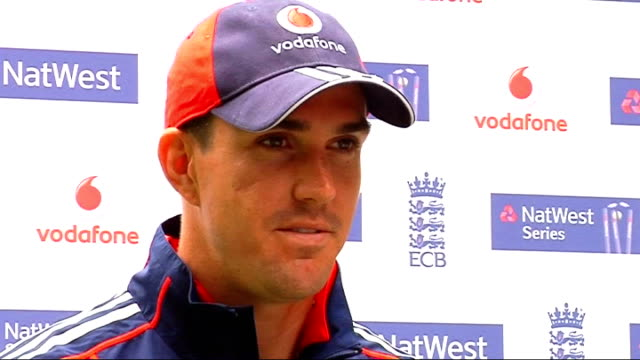 Fifth One Day International Kevin Pietersen and Daniel Vettori interviews ENGLAND London EXT Kevin Pietersen interview SOT Wished Happy Birthday and...