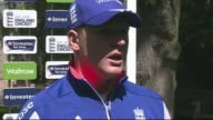 Interviews ahead of first test ENGLAND London Lord's Cricket Ground EXT Gary Ballance speaking to press SOT