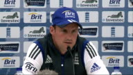 Captain press conferences / South Africa training ENGLAND London The Oval Cricket Ground INT Andrew Strauss press conference SOT General views of...