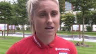 England women's captain Steph Houghton speaks ahead of their 2019 World Cup qualifier against Russia