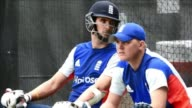 Englands cricket team train ahead of their match against Bangladesh on Monday in Adelaide