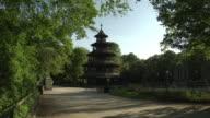 Englischer Garten - Chinesischer Turm, Biergarten is closed, sunny