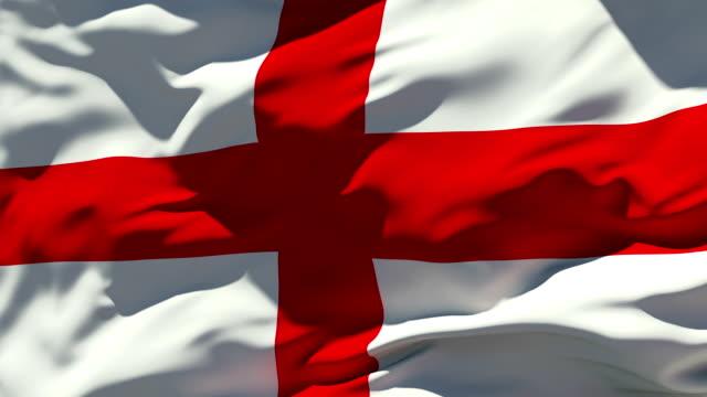English Flag Stock Foo...