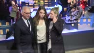 English Supermodels Kate Moss and Cara Delevingne launch Xmas shopping in Paris by opening the Burburry windows of the Famous department store they...