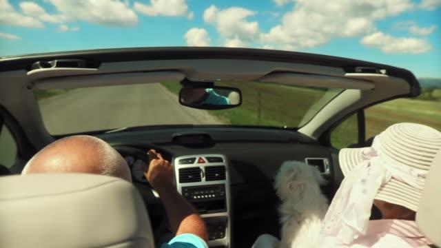 HD: Enjoying A Ride In Convertible