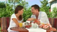 HD DOLLY: Enjoying Romantic Breakfast