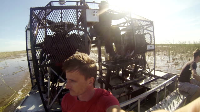 HD: Enjoying The Ride On Airboat