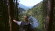 Enjoying the view (slow motion)