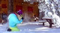 Enjoyment on snow