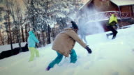 Enjoyment on snow