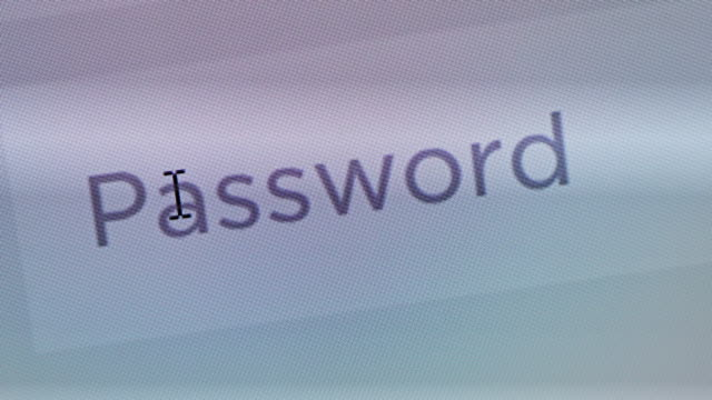 Enter password,Close up