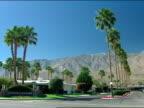 Enterance to Canton Estates subdivision w/ mountains BG midcentury modern design