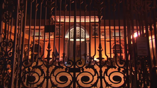 MS ZO Entrance gate of Egyptian museum / Cairo, Egypt