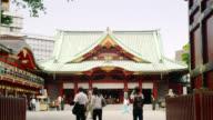 MS Entrance of shrine / Tokyo, Tokyo-to, Japan