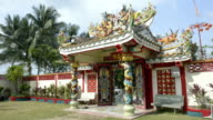 Entrance to Chinese temple