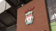 Entrance to 'The Kop' General Views at Anfield on September 20 2011 in Liverpool England