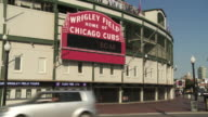 WS entrance to Wrigley Field / Chicago, Illinois, USA