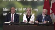 Environment ministers from some 30 countries gather in Montreal seeking headway on the Paris climate accord as a US envoy signaled a softening in...
