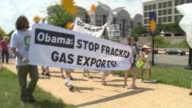 Environmentalists rally against fracking natural gas and FERC
