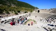 PANNING: Ephesus ancient city