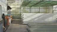 PAN equipment storage in industrial nursery, RED R3D 4K