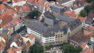 Erfurt  - Aerial View - Thuringia,  helicopter filming,  aerial video,  cineflex,  establishing shot,  Germany