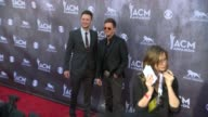 Eric Gunderson and Stephen Barker Liles at the 49th Annual Academy of Country Music Awards Arrivals at MGM Grand Garden Arena on April 06 2014 in Las...