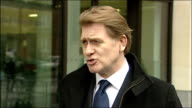 Eric Joyce statement outside court ENGLAND London Westminster Magistrates Court PHOTOGRAPHY*** Eric Joyce MP speaking to press SOT Clearly it's a...