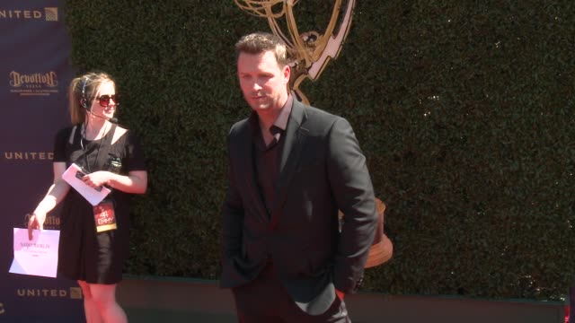 Eric Martsolf at the 44th Annual Daytime Emmy Awards at Pasadena Civic Auditorium on April 30 2017 in Pasadena California