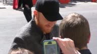 Eric Paslay arriving to the 52nd Academy Of Country Music Awards in Celebrity Sightings in Las Vegas