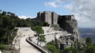 Erice, general view of the Norman castle