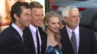Erik Feig Christopher Egan Amanda Seyfried and Rob Freidman at the 'Letters To Juliet' Premiere at Hollywood CA