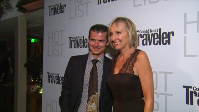 Erik Lorincz at the Conde Nast Traveler Hot List Party at West Hollywood CA