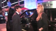 Erin Andrews Evan Lysacek at Boa in West Hollywood at the Celebrity Sightings in Los Angeles at Los Angeles CA