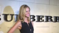 Erin Heatherton at the Burberry Body Launch at Beverly Hills CA