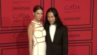 Erin Wasson and Alexander Wang at 2013 CFDA Fashion Awards Arrivals at Alice Tully Hall on June 03 2013 in New York New York