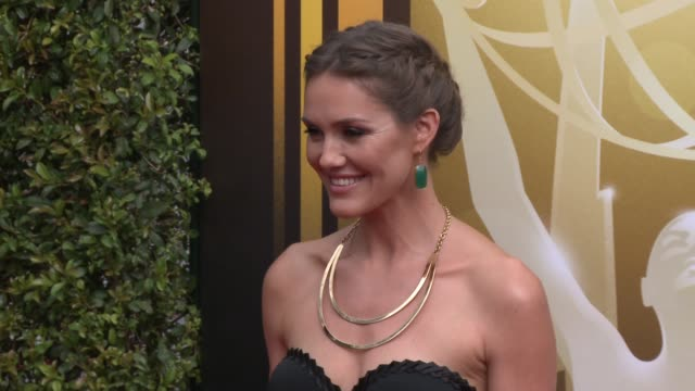 Erinn Hayes at the 2015 Creative Arts Emmy Awards at Microsoft Theater on September 12 2015 in Los Angeles California