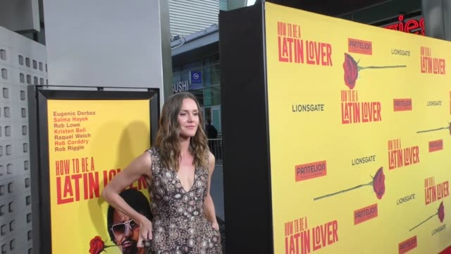 Erinn Hayes at the Premiere Of Pantelion Films' 'How To Be A Latin Lover' on April 26 2017 in Hollywood California