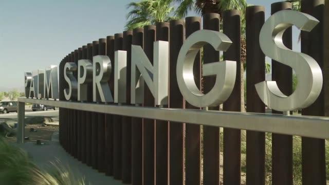 El oasis de Palm Springs on June 19 2012 in Palm Springs California