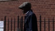 Esa Charles the father of Rashan Charles leaving Poplar Coroner's Court in east London where an inquest has opened into the death of the 20yearold