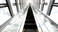 HD: Escalator moving up
